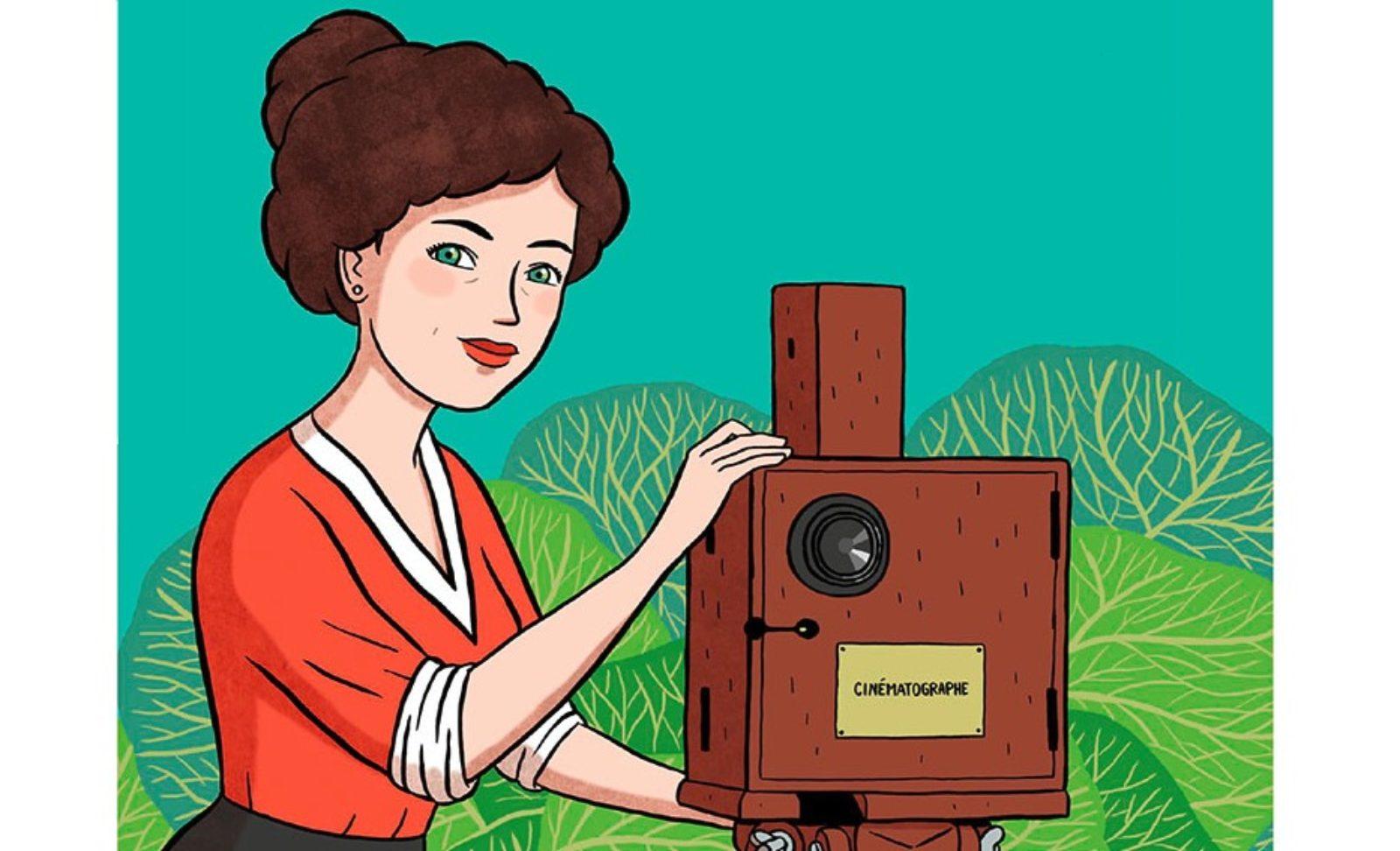 Femme inspirante : Mademoiselle Alice qui inventa le cinéma