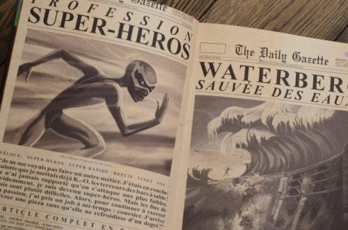 Les super héros détestent les artichauts Sébastien Perez & Benjamin Lacombe [LITTÉRATURE JEUNESSE]