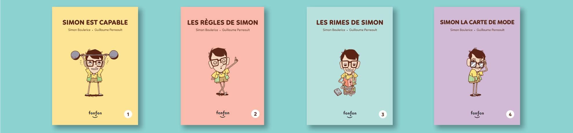 Histoires de lire: tombez sous le charme de la série Simon et moi