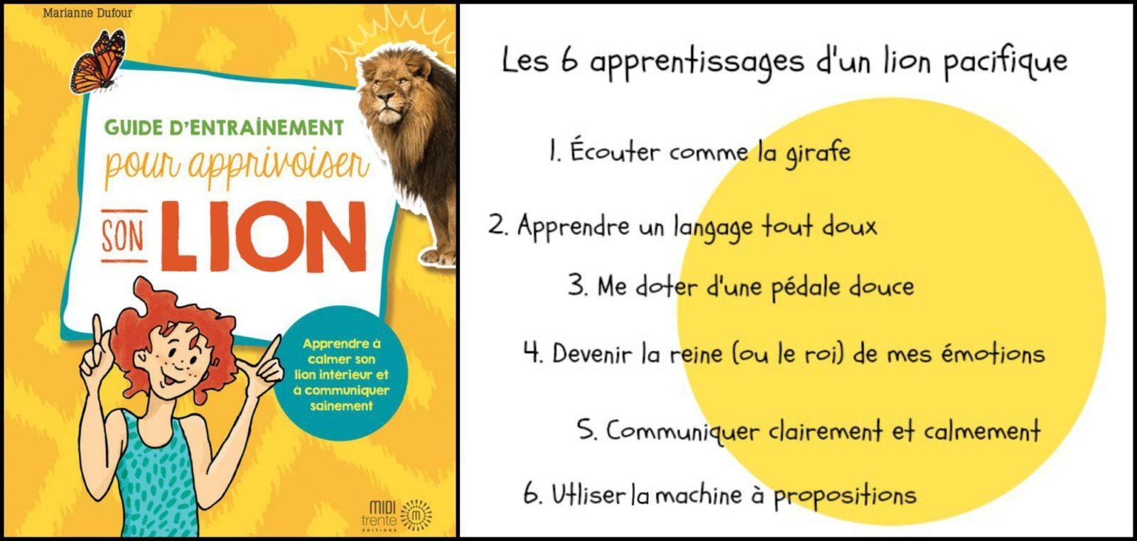 Apprivoiser son lion – apprendre à contrôler les explosions d'émotions