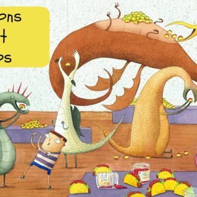 Les dragons adorent les tacos : un album ludique déjanté !