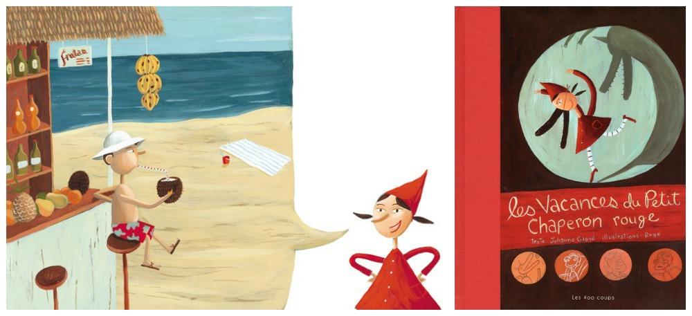 Lecture ludique : Les vacances du Petit Chaperon rouge