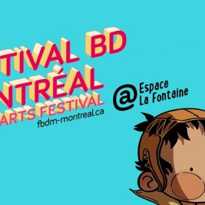 Mon expérience au FBDM (Festival BD de Montréal)