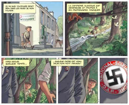 BD jeunesse découvrez la série Les enfants de la Résistance