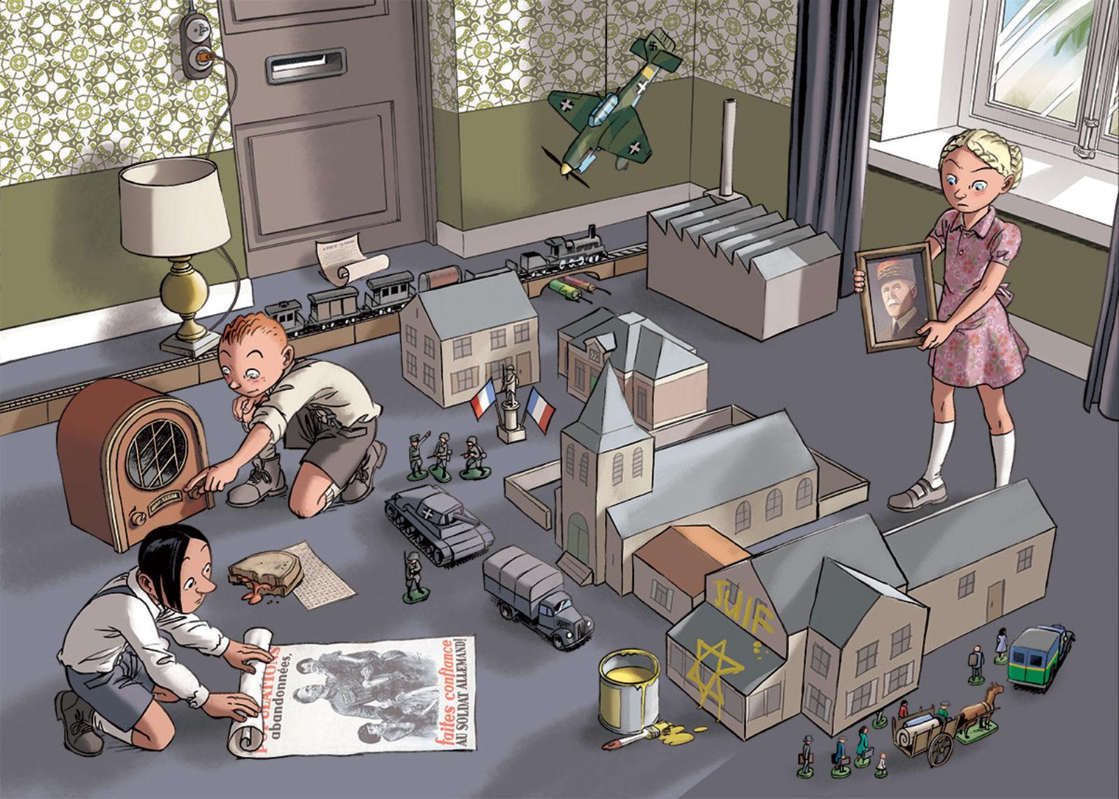 BD jeunesse : la série « Les enfants de la Résistance »