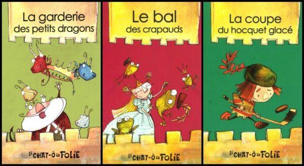 LIVRES ABORDABLES - littérature jeunesse québécoise à moins de 11$ - Le chat-ô en folie