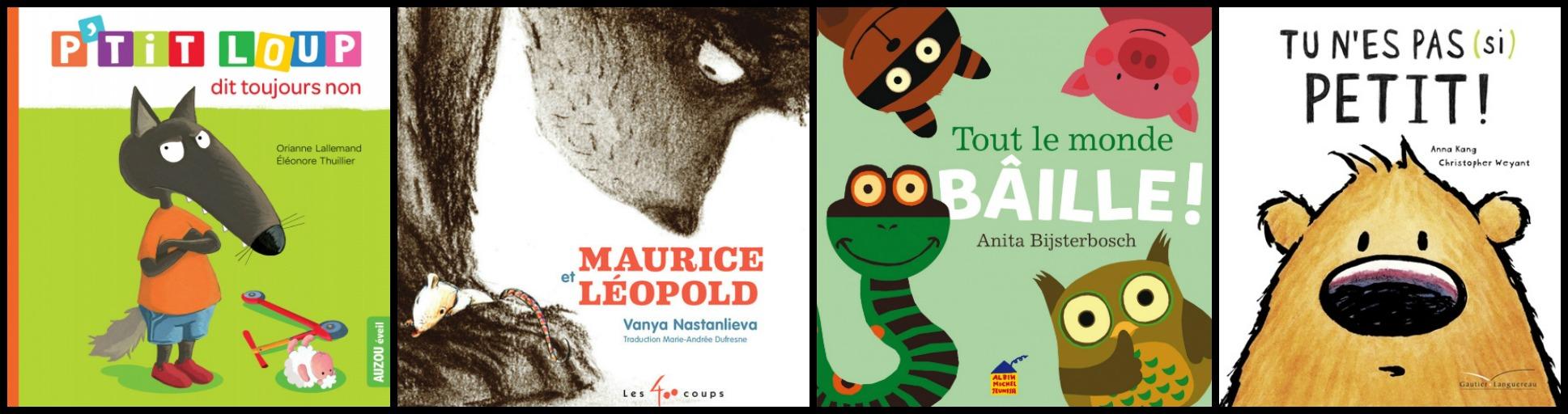 3 livres + une collection pour faire participer ton toddler