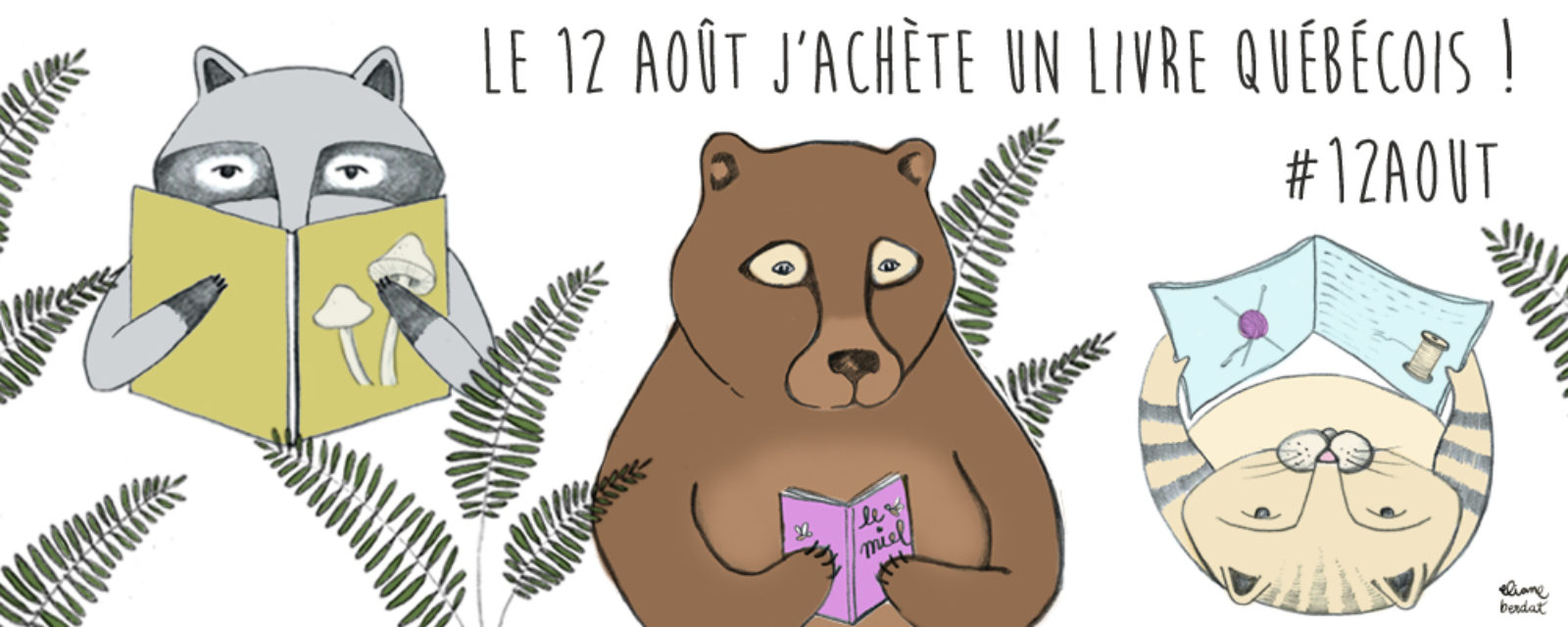Le #12août 2017, j'achète un livre jeunesse québécois