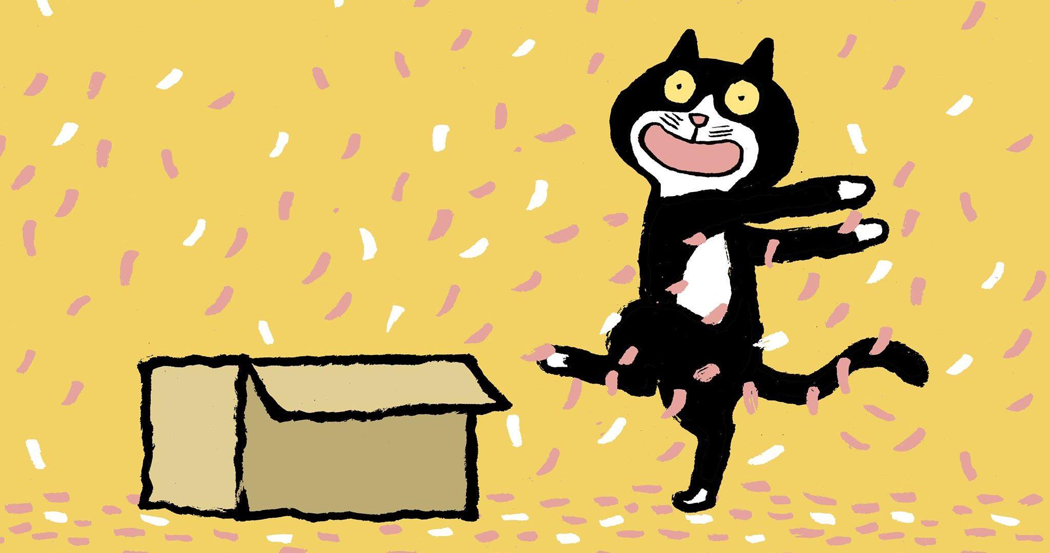 Peter, le chat debout – parce qu'être différent, c'est rigolo !