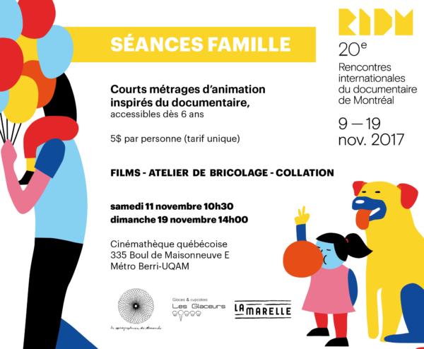 Séances Famille RIDM - flyer
