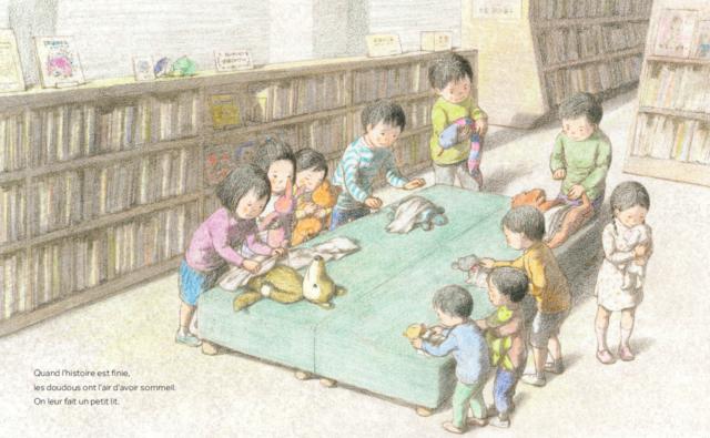 Une nuit à la bibliothèque