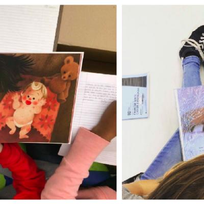 2 ACTIVITÉS : inviter les grands à lire des histoires de Noël aux petits