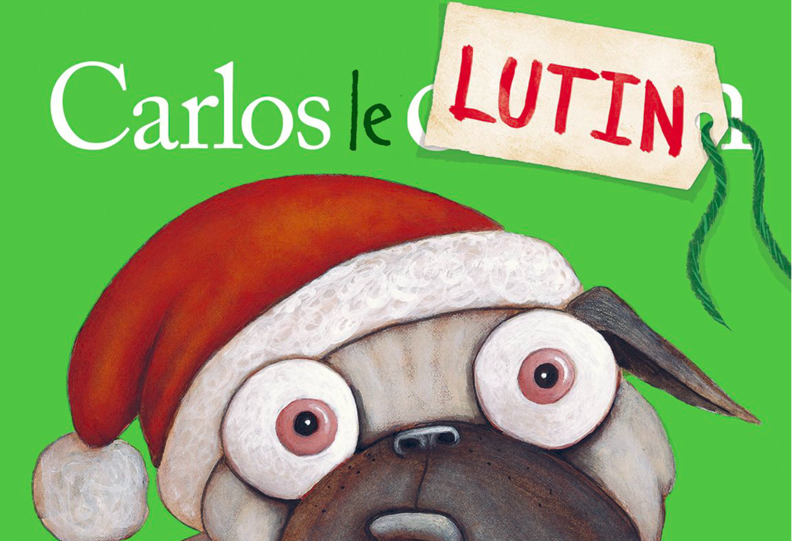 Carlos le lutin veut trop de cadeaux: un album sur la surconsommation