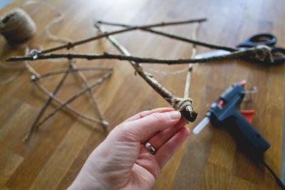 DIY de décembre - L'étoile de bois style scandinave