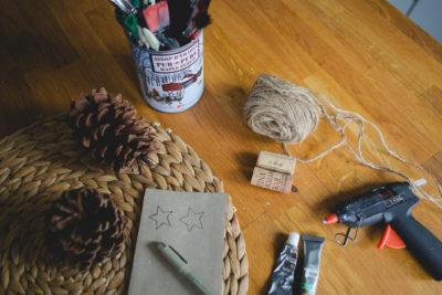DIY de décembre : MON BEAU SAPIN