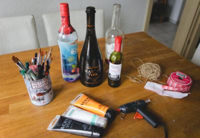 DIY de décembre - Le bonhomme bouteille