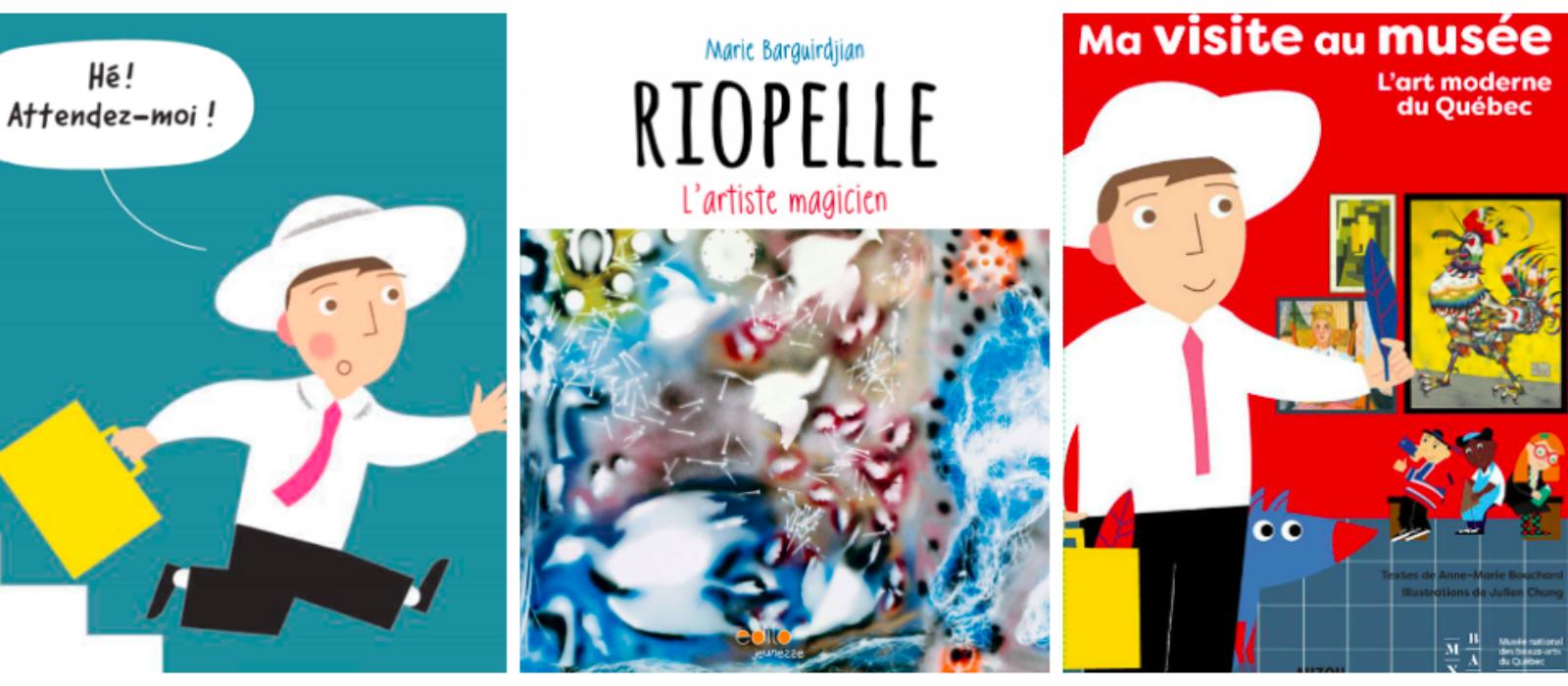 2 livres d'art pour préparer sa visite au musée avec les enfants