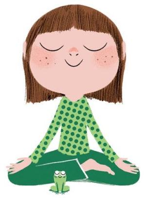 Calme et attentif comme une grenouille - Philosopher et méditer avec les enfants