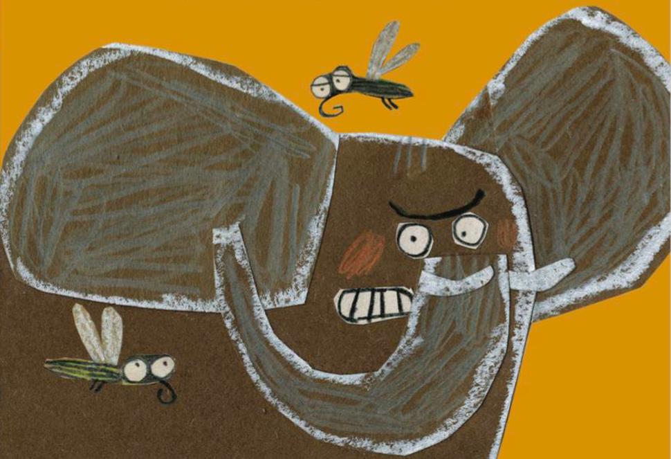 Tempête sur la savane: un album hilarant à double sens