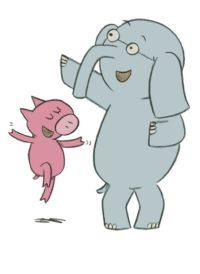 Éléphant et Rosie - Mo Willems