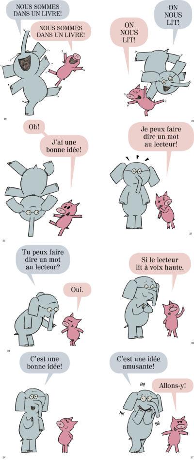 Éléphant et Rosie - Nous sommes dans un livre (MO WILLEMS)