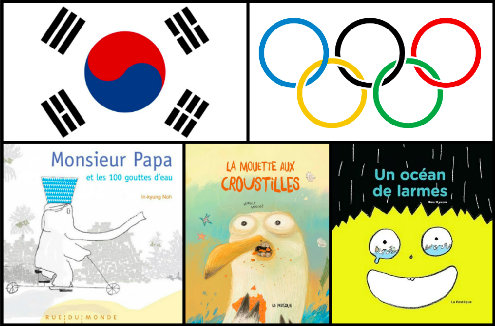 Être aux Jeux olympiques de Corée par la littérature jeunesse