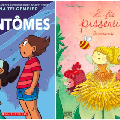 La fée pissenlit & Fantômes : 2 bandes dessinées #GirlPower