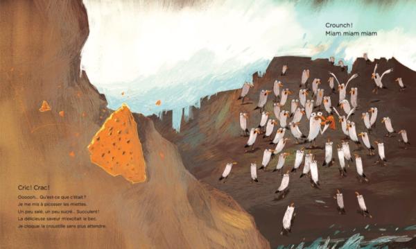 La mouette aux croustilles - Être aux Jeux olympiques de Corée par la littérature jeunesse !