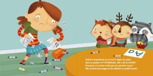 Dafné et les Doudoux + l'importance du héros de fiction pour les petits