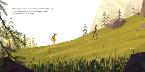 Le StoryWalk - La Milléclat dorée Benjamin Flouw