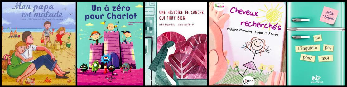 Parler du cancer avec les enfants, avec l'aide des livres