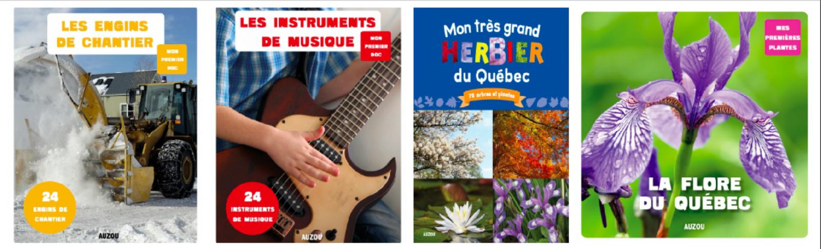 Mon premier doc : une collection québécoise chez les éditions Auzou !