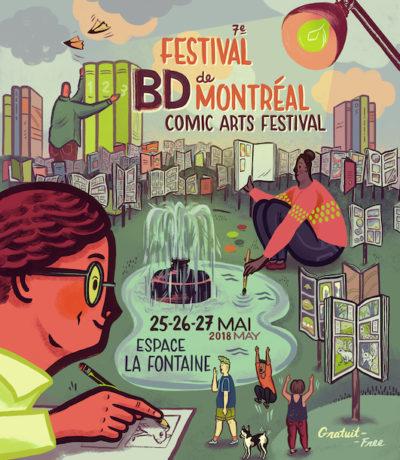 La 7e édition du Festival de la BD de Montréal 2018