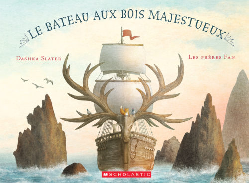 Le bateau aux bois majestueux Les frères Fan Scholastic