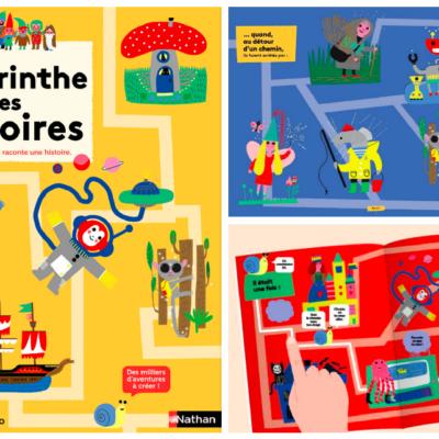 Le labyrinthe des histoires: un petit trésor pour l'imagination des enfants !