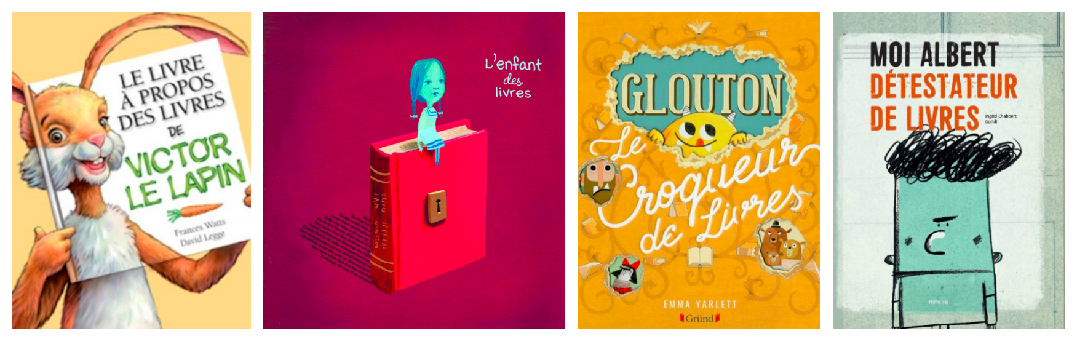 Découvrir la richesse des livres avec 7 albums qui parlent des livres
