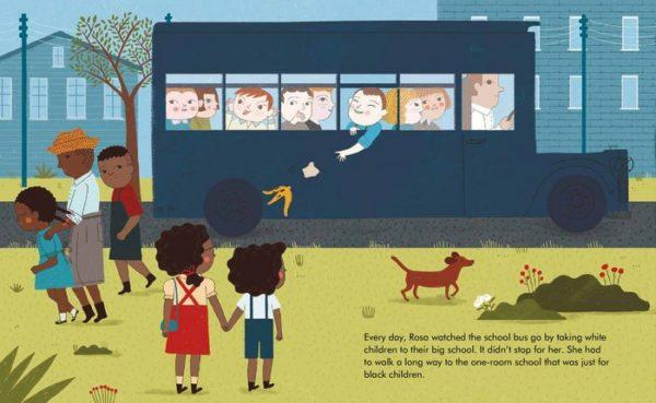 De petite À GRANDE - Rosa Parks (éditions La courte échelle)