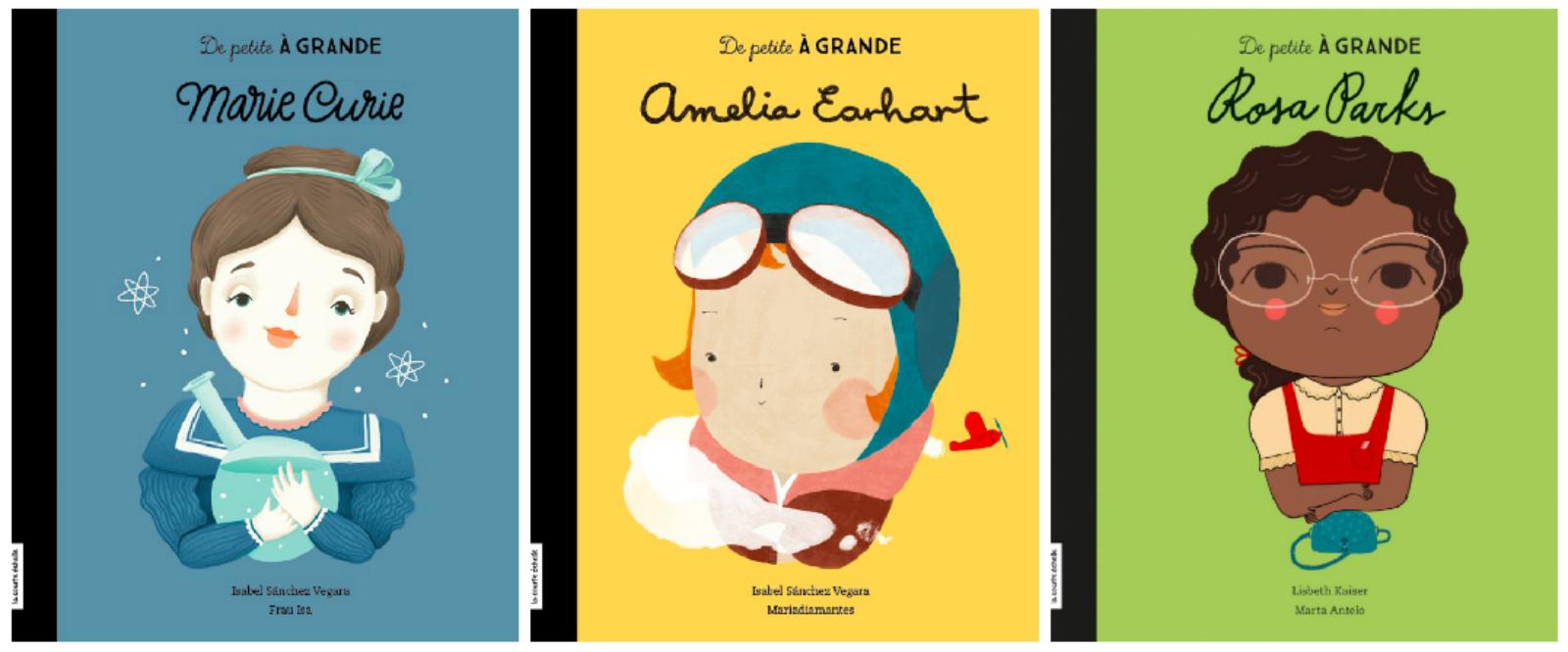 De petite À GRANDE : une collection inspirante pour les enfants !
