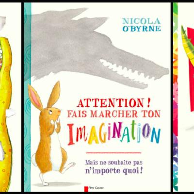 On s'éclate avec les albums interactifs de l'auteure illustratrice Nicola O'Byrne