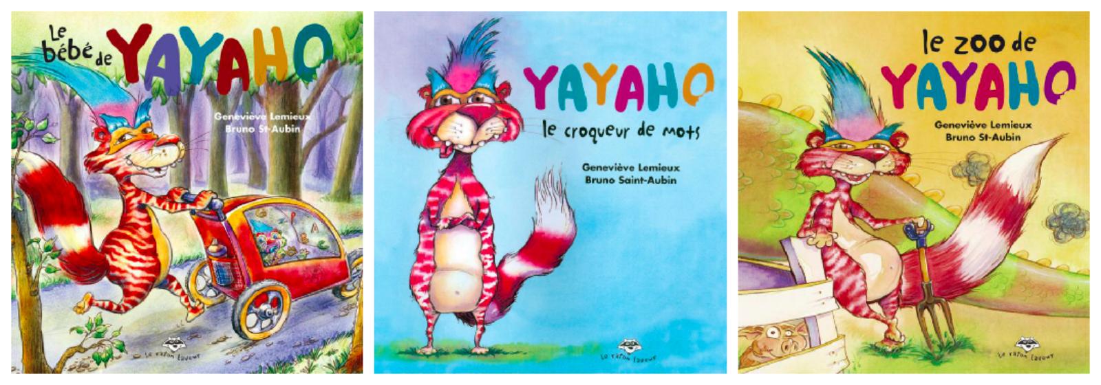 Yayaho, le croqueur de mots : un album ludique pour jouer avec les mots