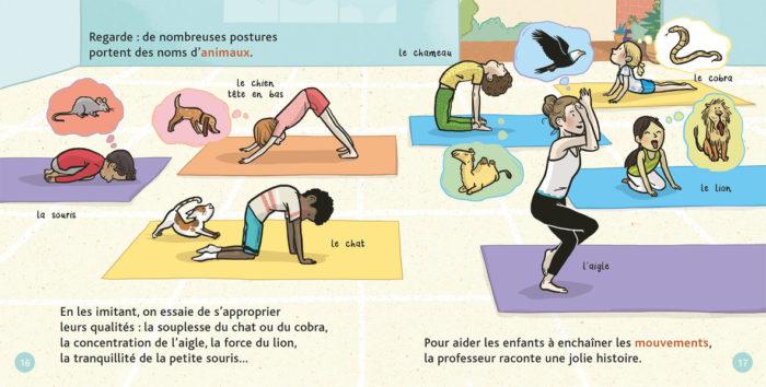 Le yoga - Milan Mes p'tits docs (Maud Riemann)