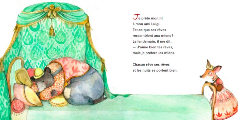 Mon lit de rêve - Éditions de l'Isatis