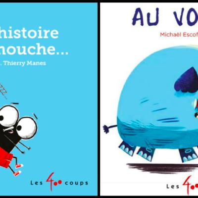 2 albums tout-carton pour favoriser l'éveil à la lecture chez les enfants