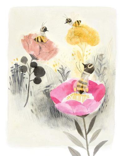 L'abeille à miel - Les animaux en voie d'extinction