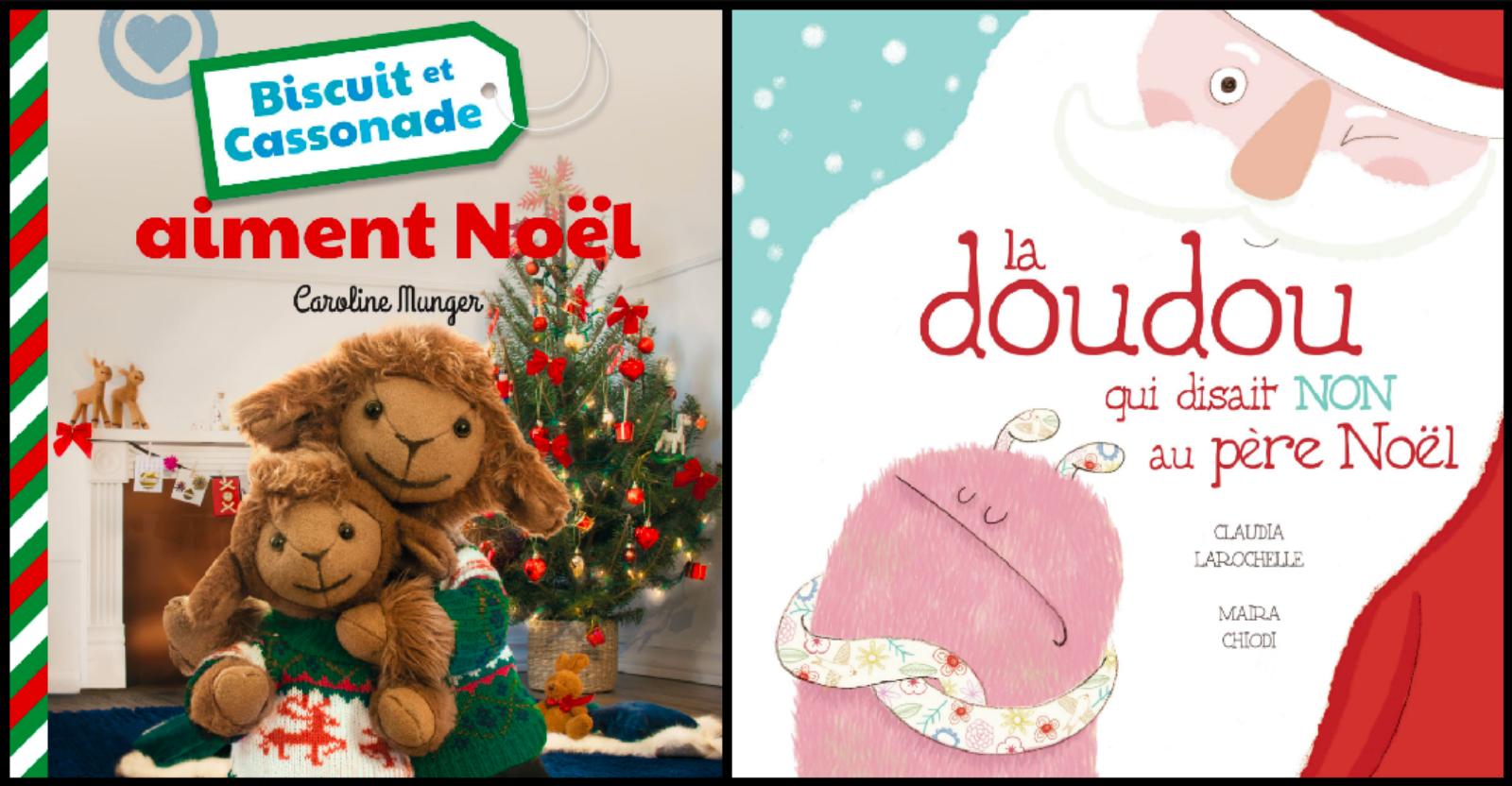 Biscuit, Cassonade et doudou nous mettent dans l'ambiance de Noël