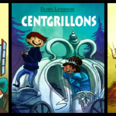 Maxime revisite les contes traditionnels : une série de miniromans rigolos !