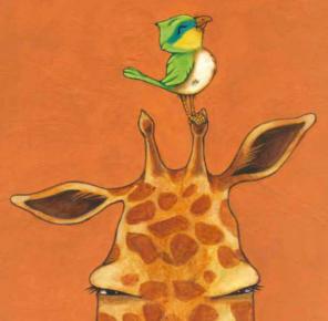La girafe et l'oiseau - UN LIVRE À MOI TD