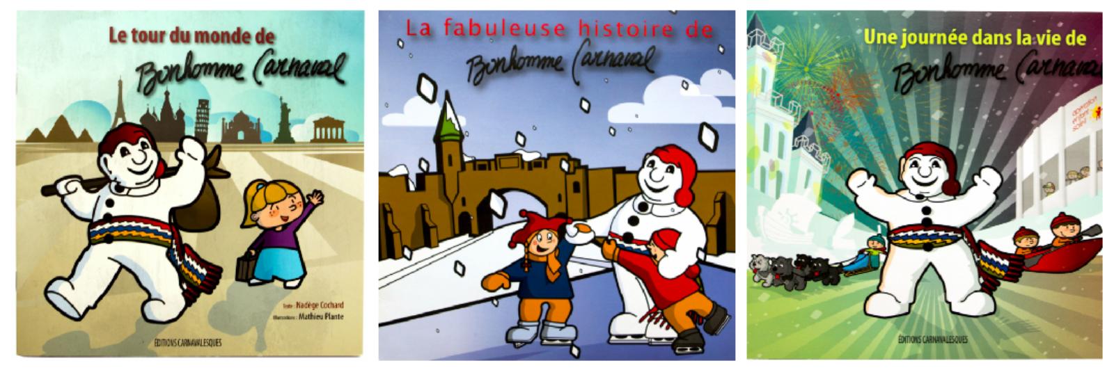 Célébrons les 65 ans de Bonhomme Carnaval avec 4 albums pour enfants !